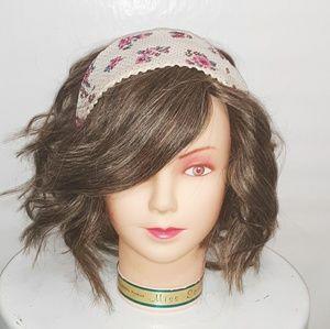 🍂Boho Floral Chiffon Headband